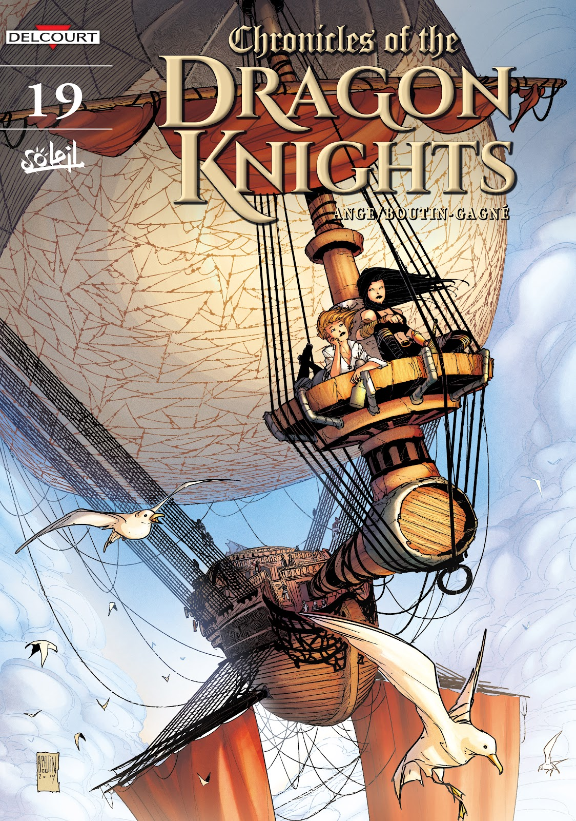 Read online Chronicles of the Dragon Knights comic -  Issue #19 - 1