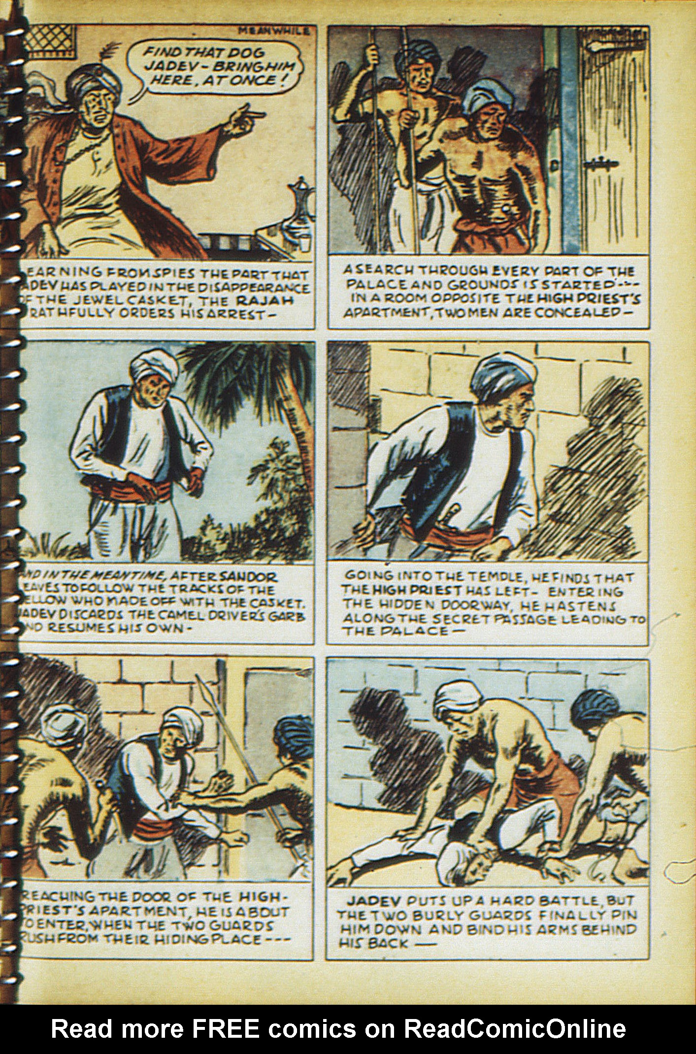 Read online Adventure Comics (1938) comic -  Issue #21 - 64