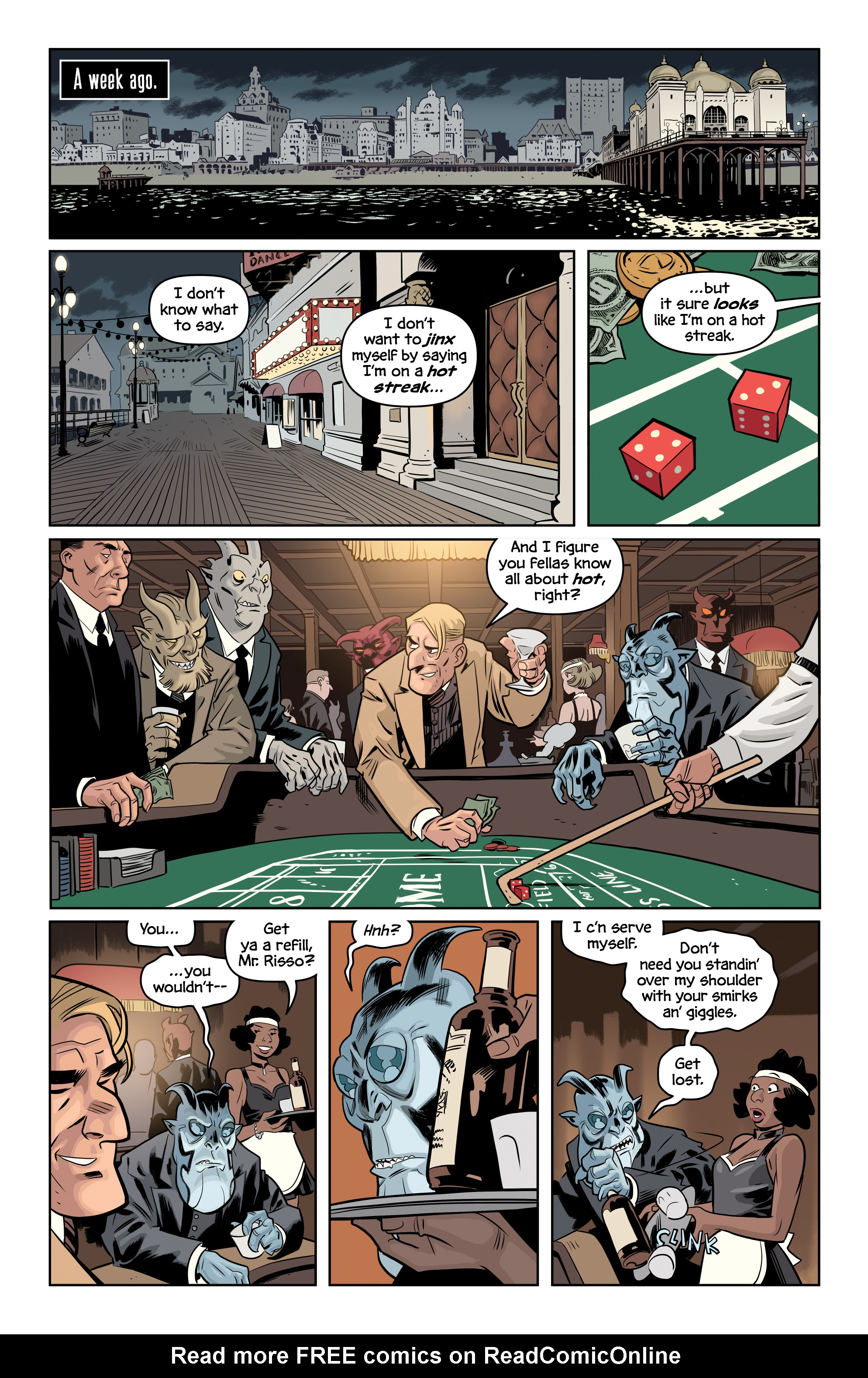 Read online The Damned comic -  Issue #2 - 3