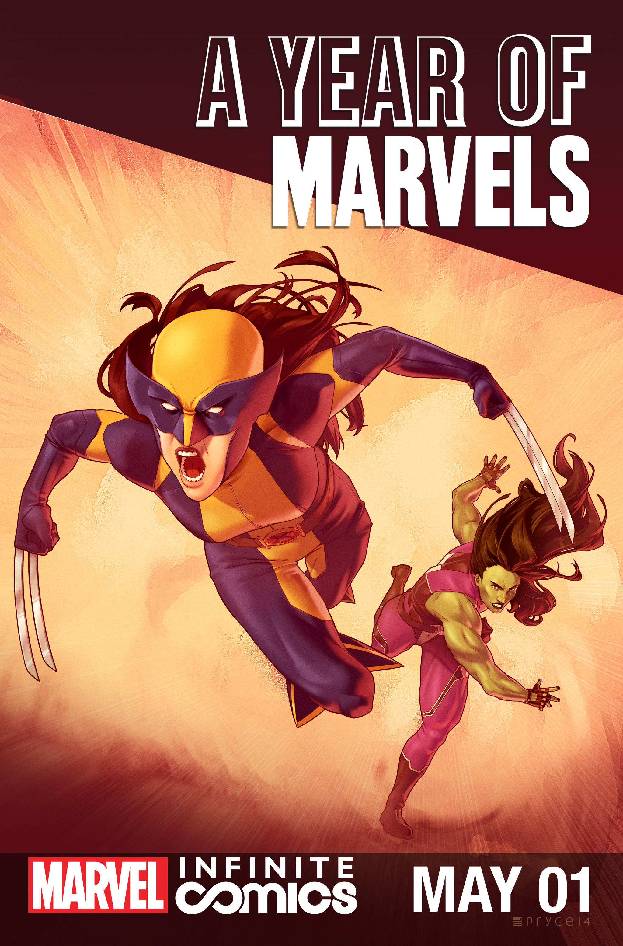 A Year of Marvels: May Infinite Comic Full Page 1