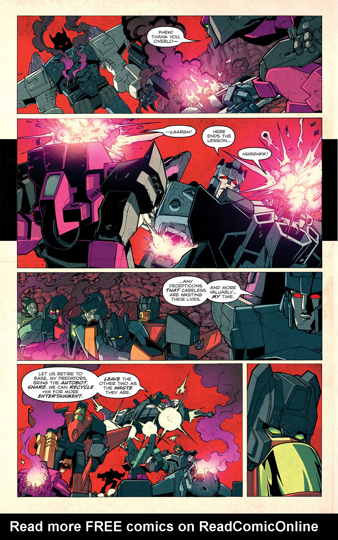 Read online Transformers: Last Stand of The Wreckers comic -  Issue #1 - 18