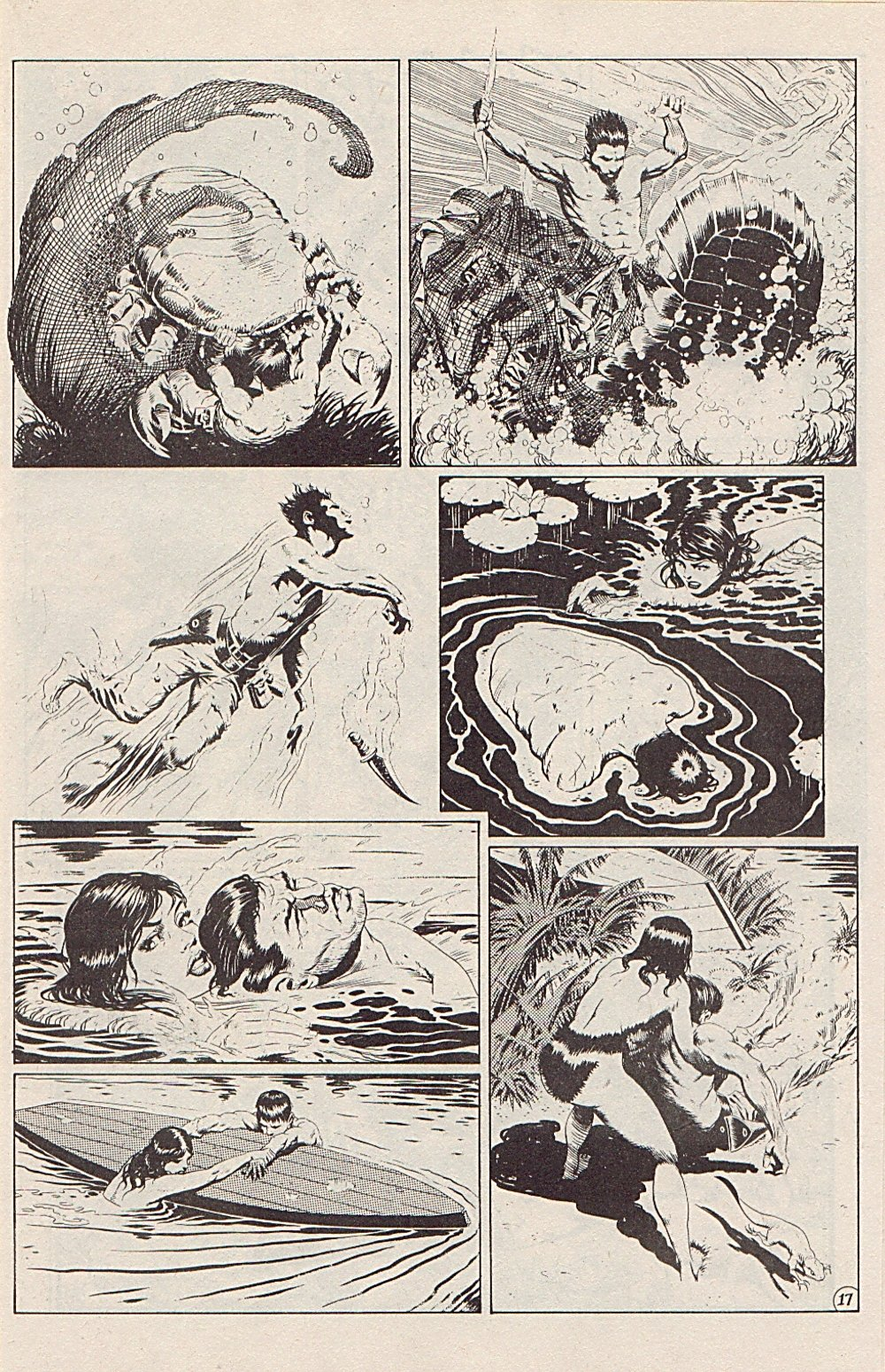 Read online Xenozoic Tales comic -  Issue #5 - 20