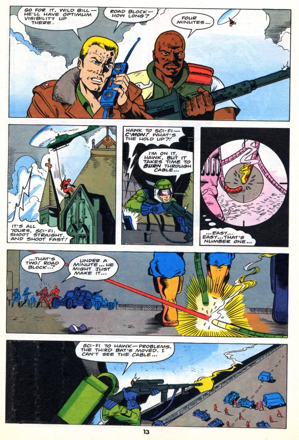 G.I. Joe European Missions issue 10 - Page 13