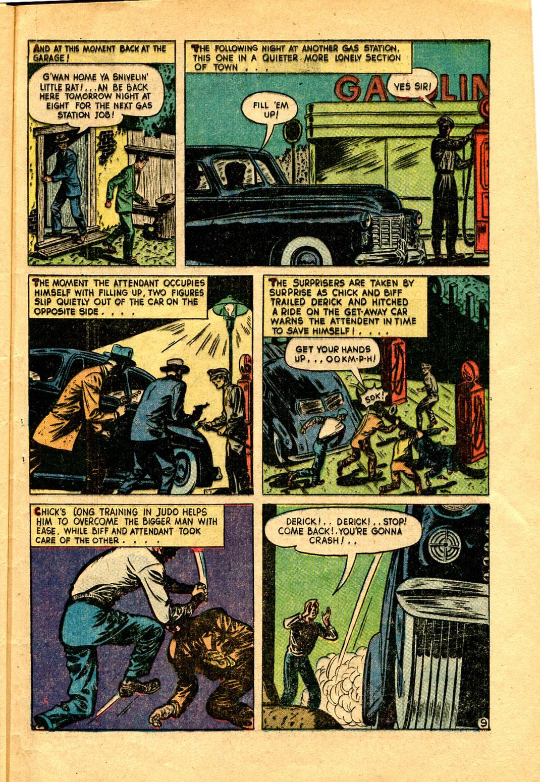 Read online Shadow Comics comic -  Issue #97 - 45