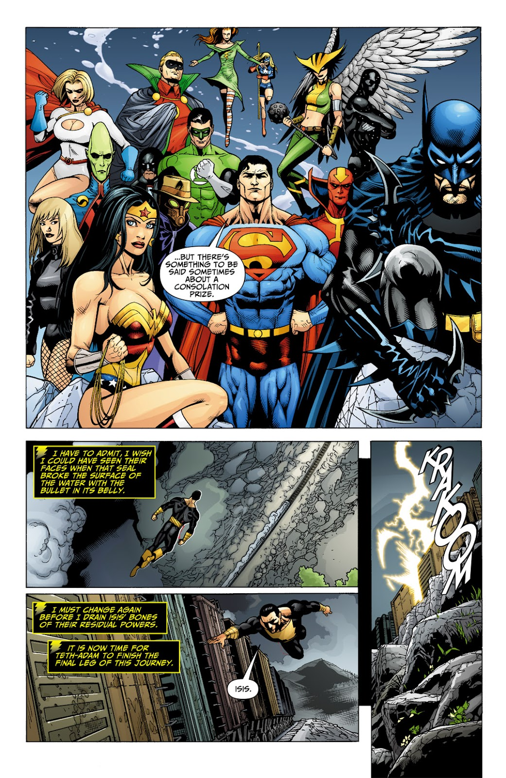Black Adam: The Dark Age issue 6 - Page 8