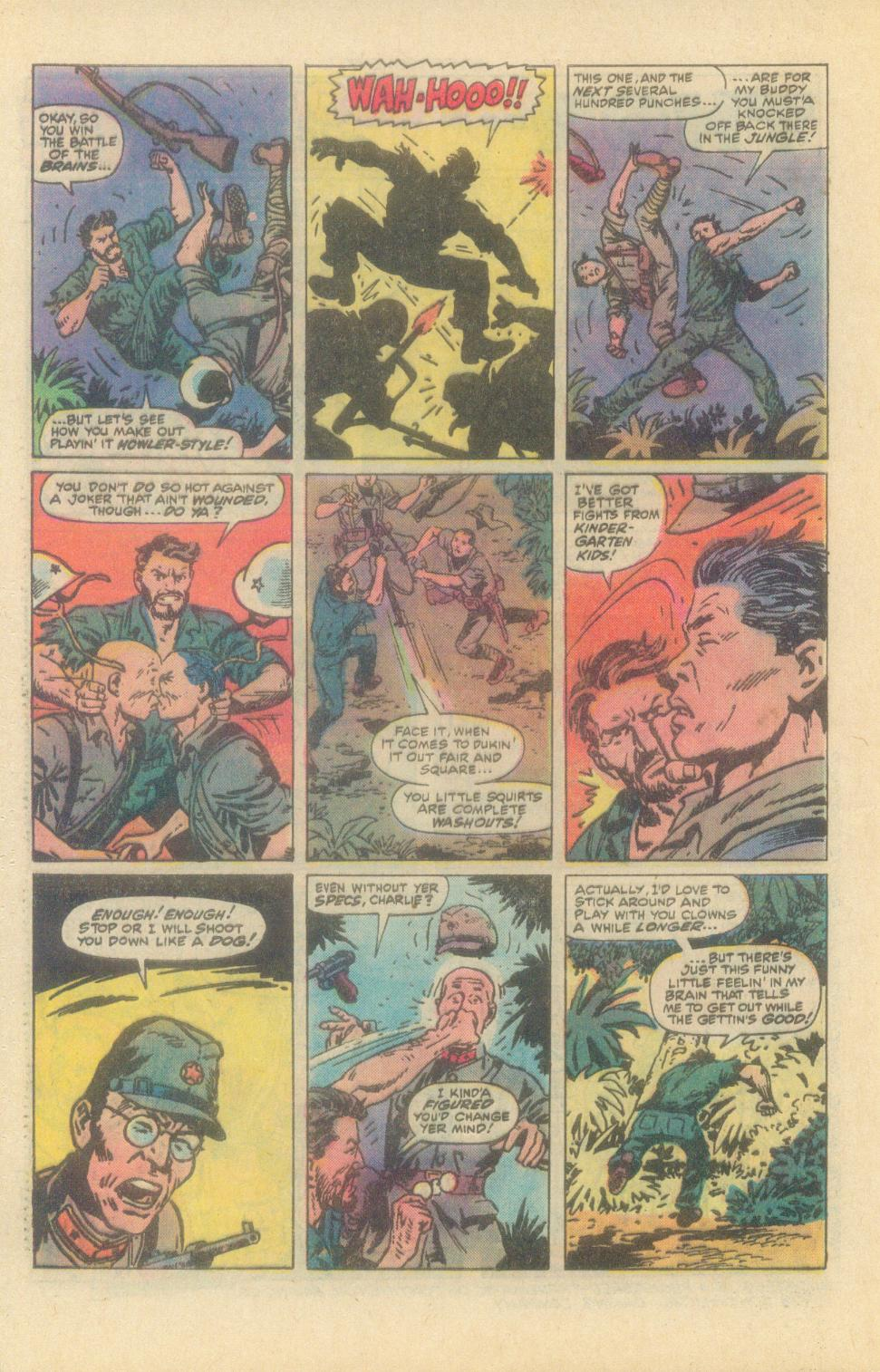 Read online Sgt. Fury comic -  Issue #149 - 32