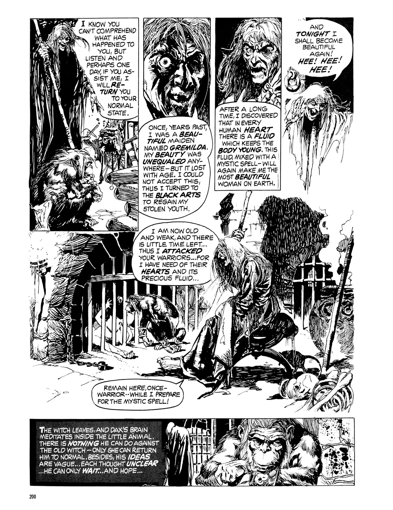 Read online Eerie Archives comic -  Issue # TPB 9 - 201