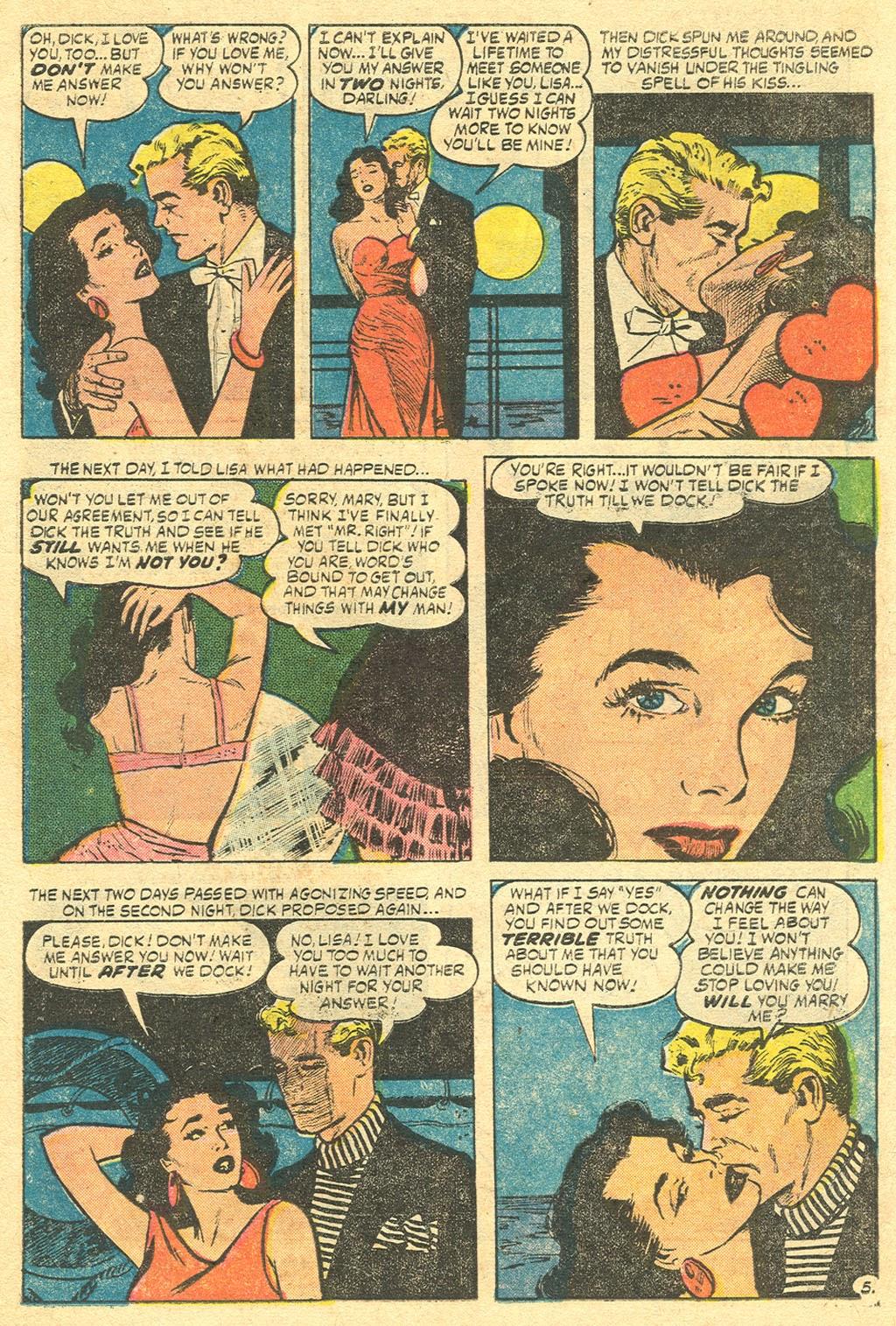 Love Romances (1949) issue 48 - Page 7