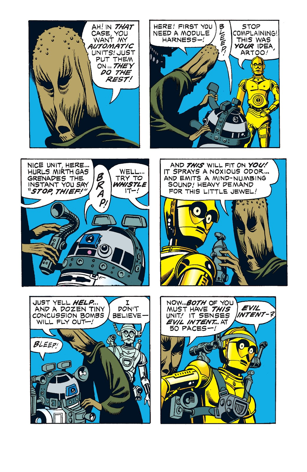 Read online Star Wars Legends: The Newspaper Strips - Epic Collection comic -  Issue # TPB (Part 1) - 81