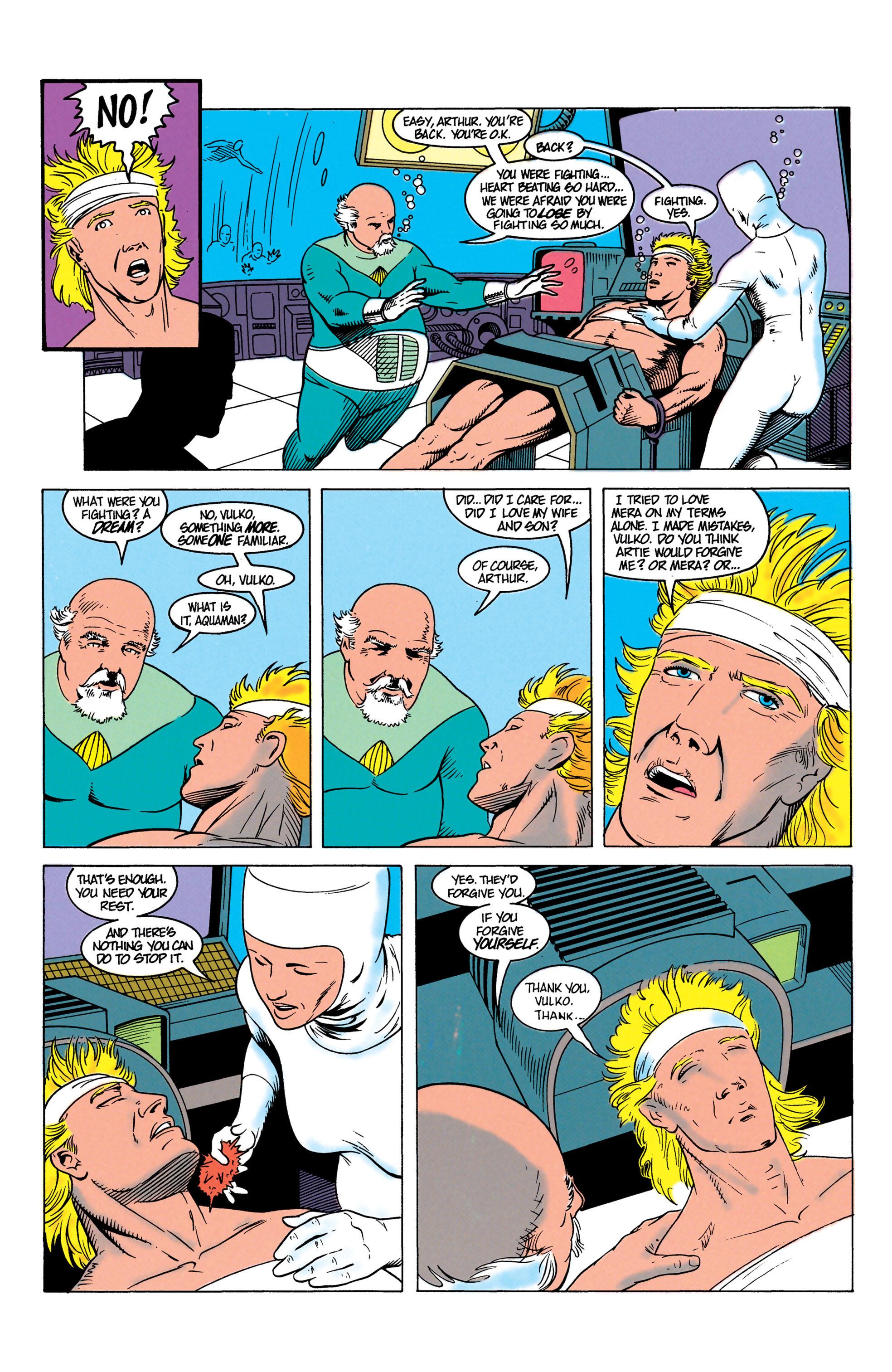 Read online Aquaman (1991) comic -  Issue #7 - 22