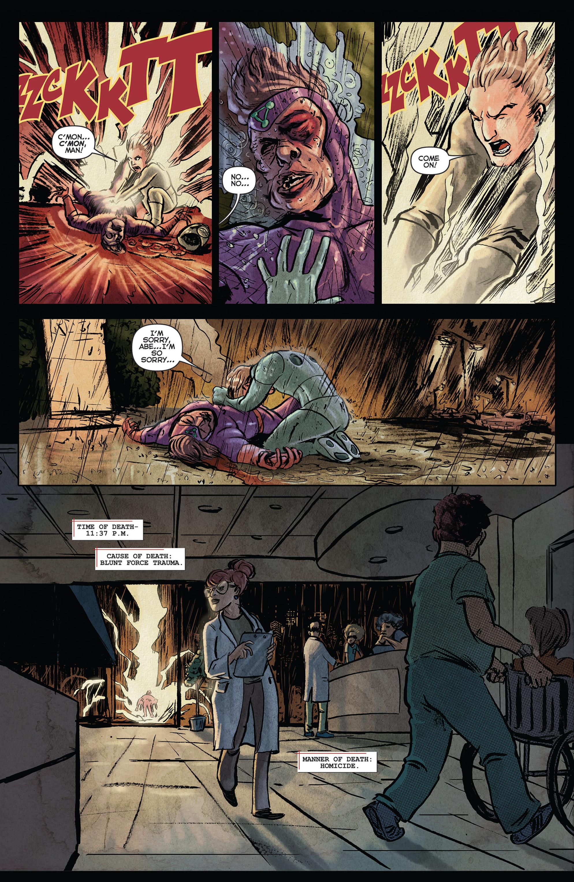 Read online Medisin comic -  Issue #1 - 7
