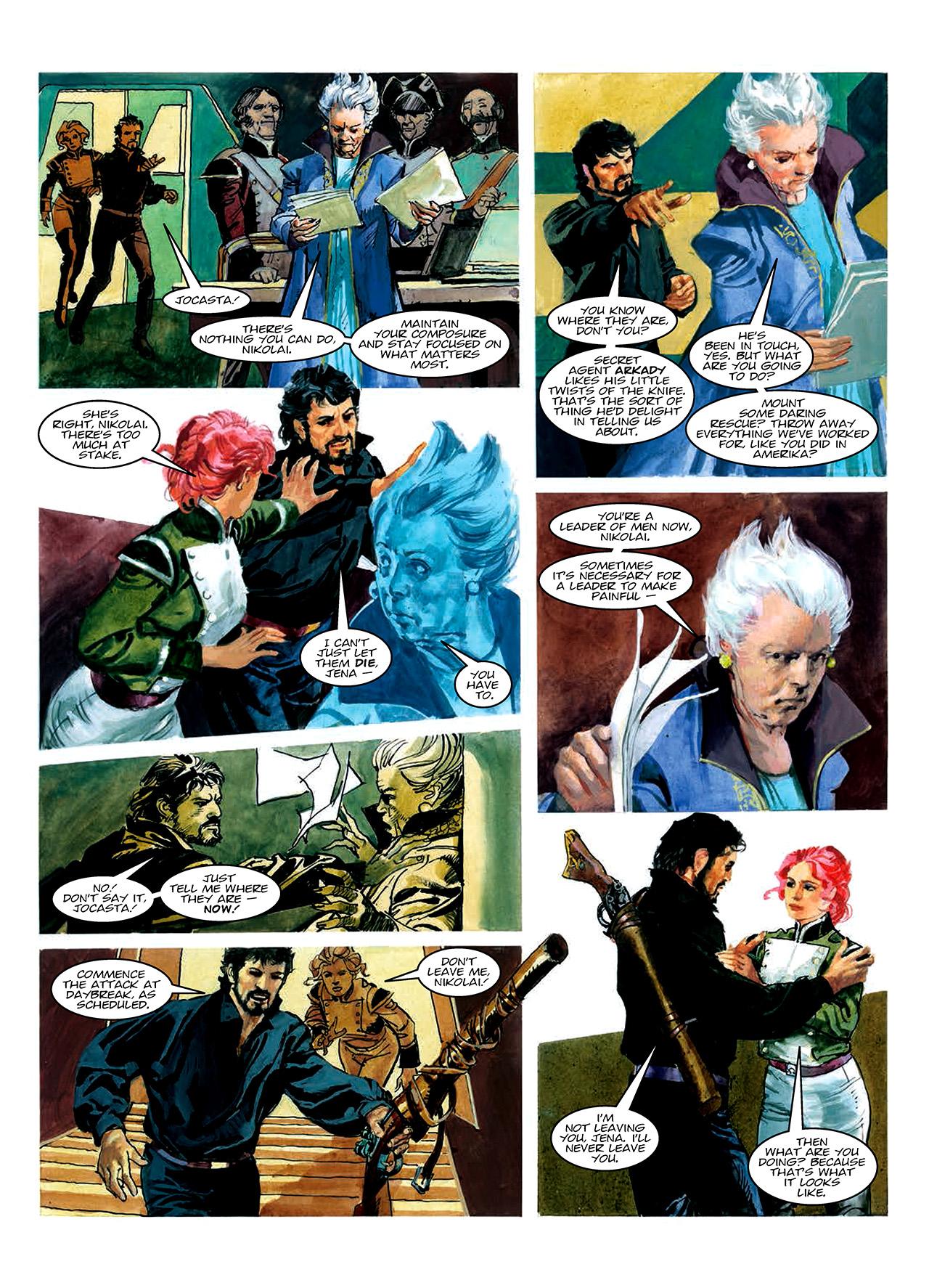 Read online Nikolai Dante comic -  Issue # TPB 10 - 47