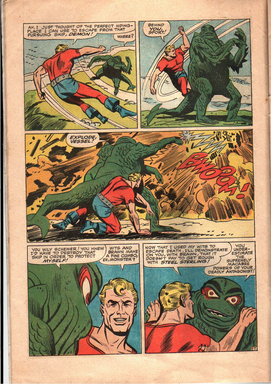 The Mighty Crusaders (1965) Issue #7 #7 - English 8