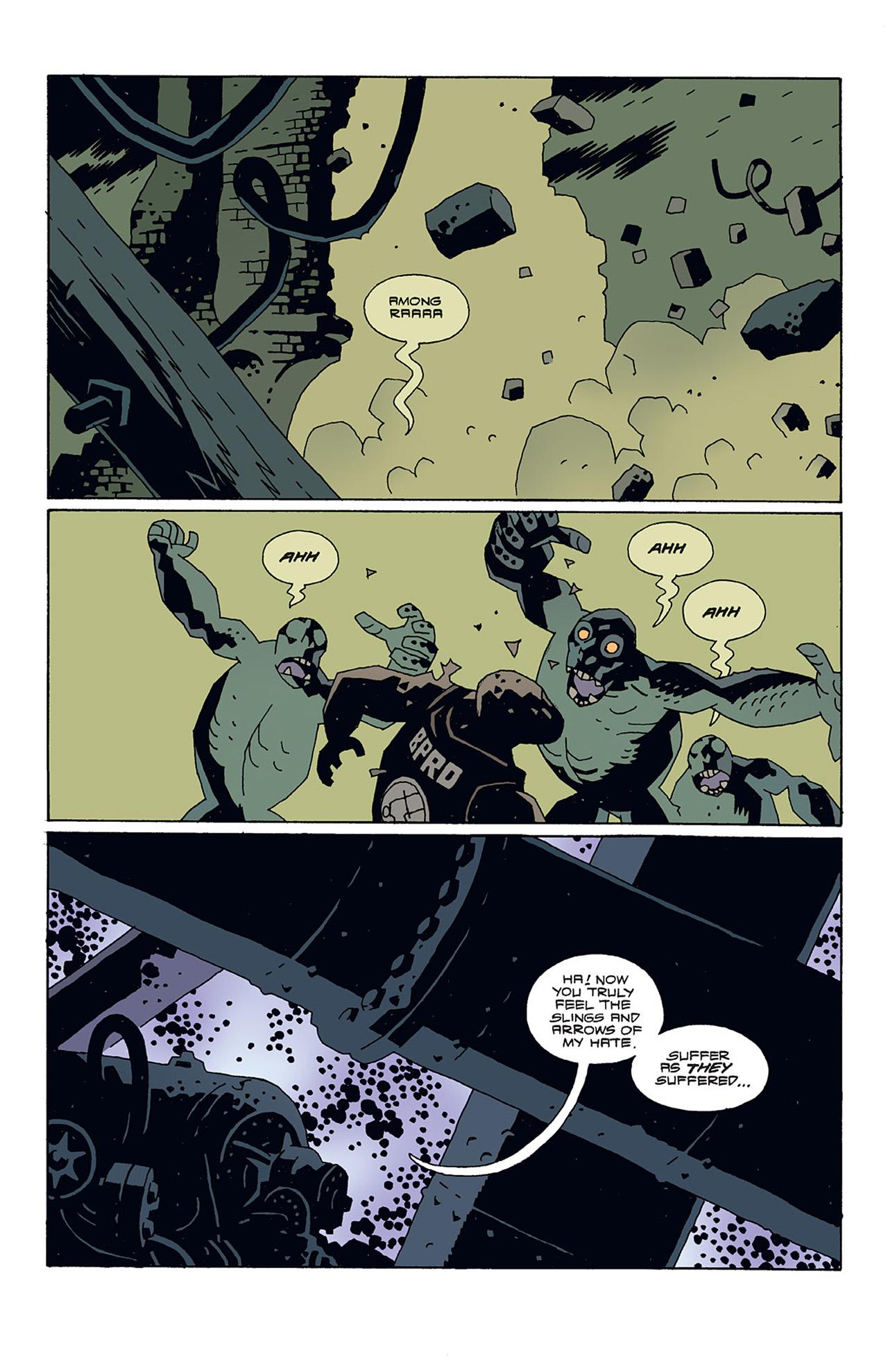 Read online Hellboy: Conqueror Worm comic -  Issue #3 - 12