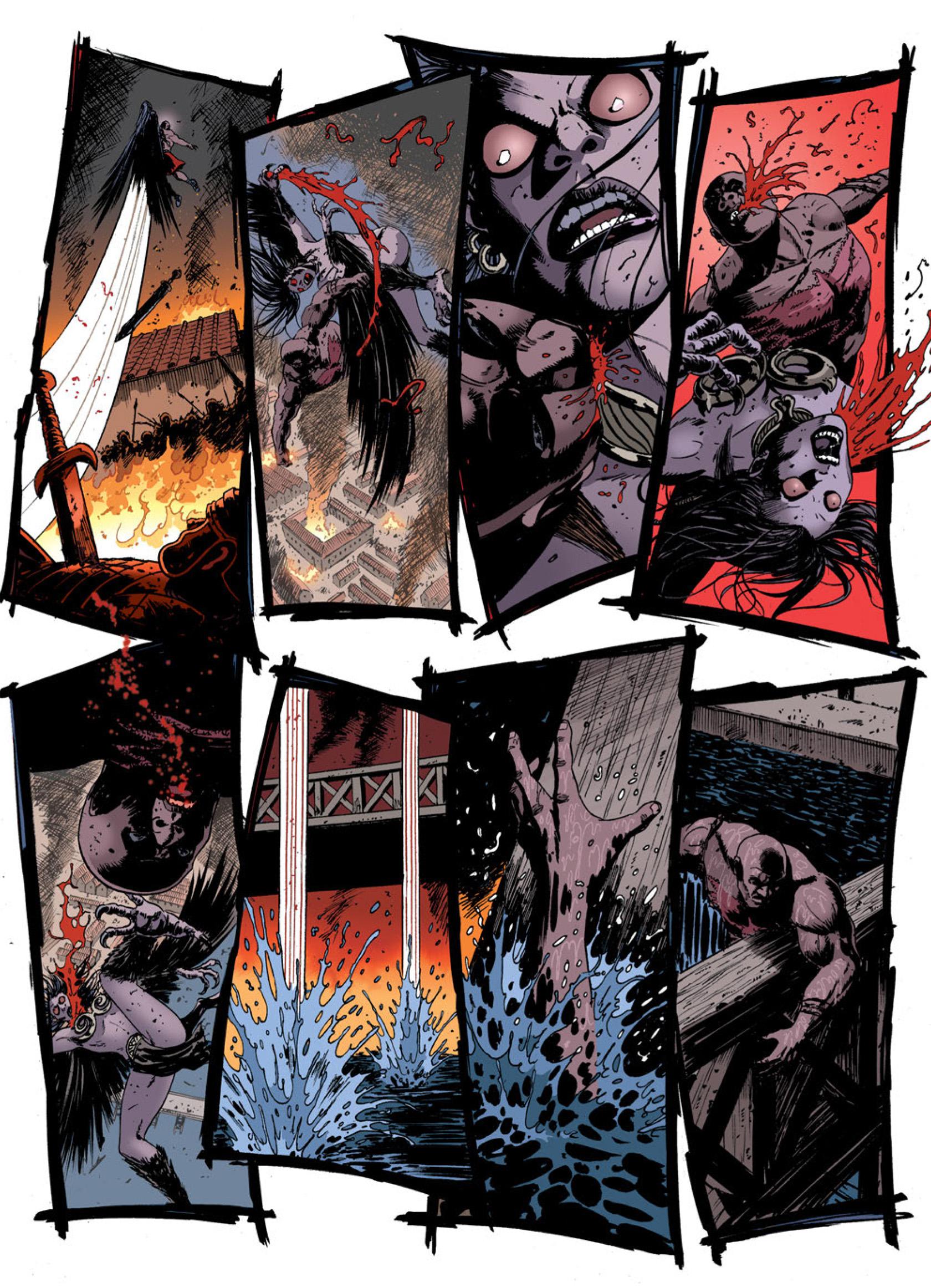 Read online Aquila comic -  Issue #2 - 11