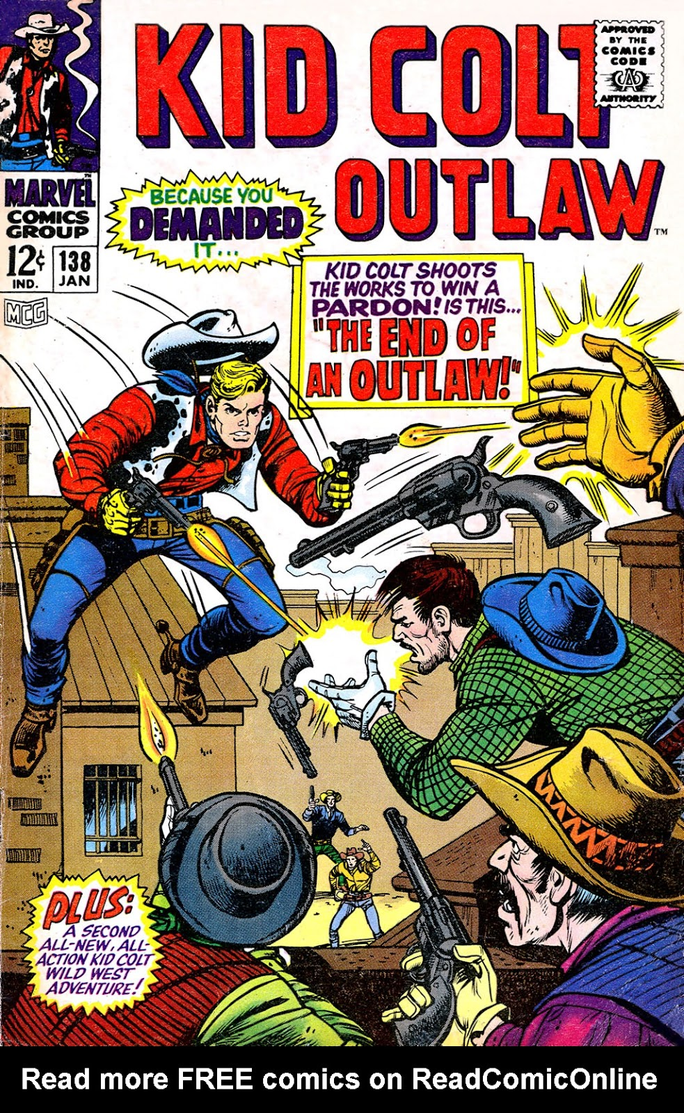Kid Colt Outlaw issue 138 - Page 1