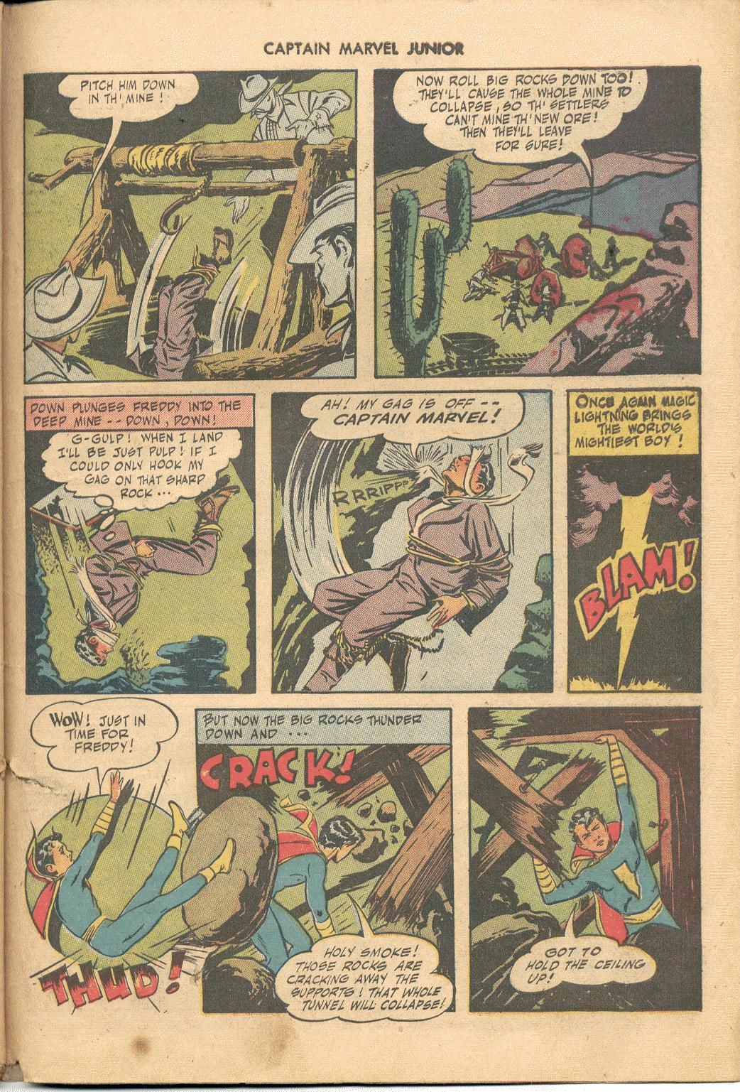 Captain Marvel, Jr. issue 38 - Page 44