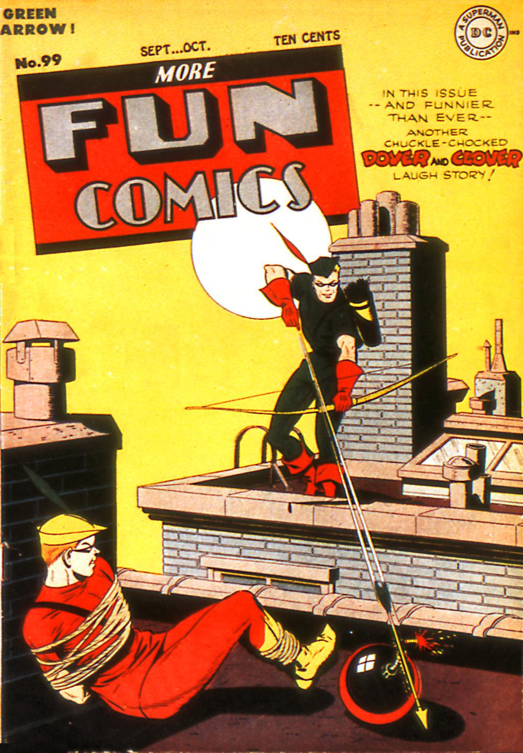 More Fun Comics 99 Page 1