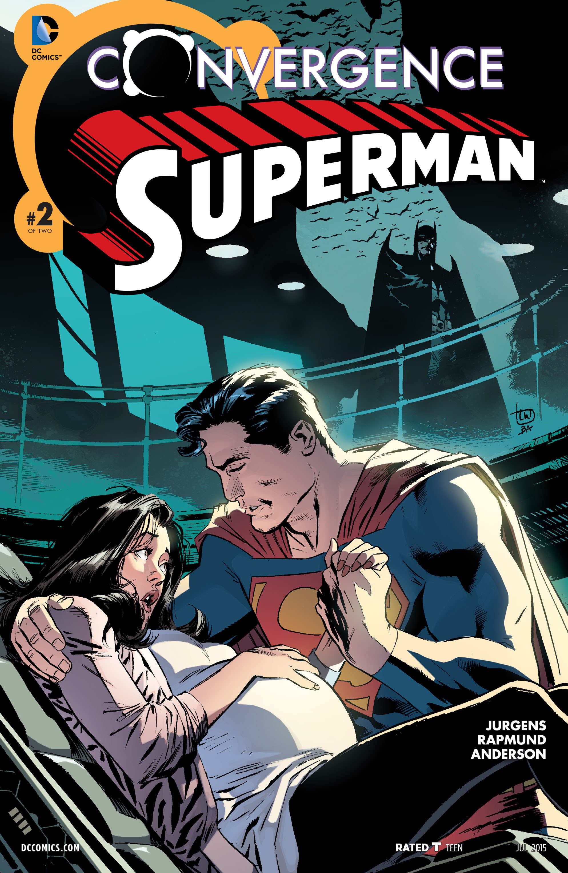 Read online Convergence Superman comic -  Issue #2 - 1