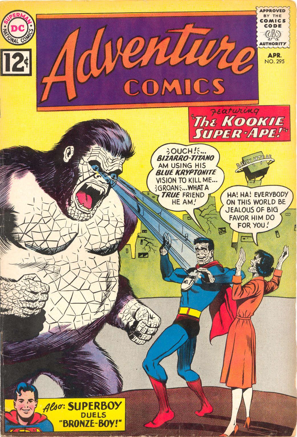 Read online Adventure Comics (1938) comic -  Issue #295 - 1