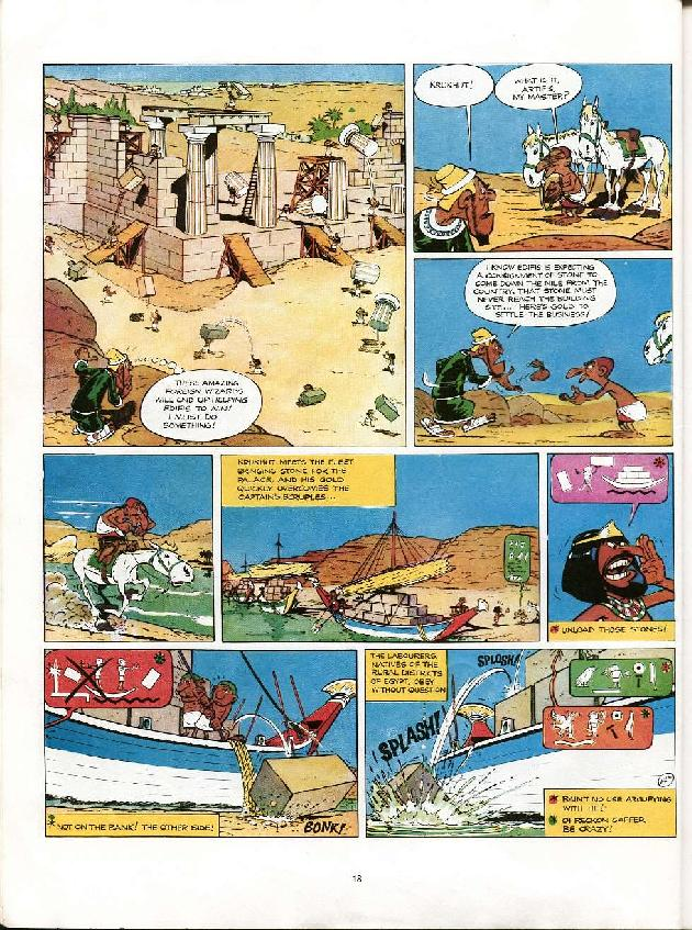 Read online Asterix comic -  Issue #6 - 15