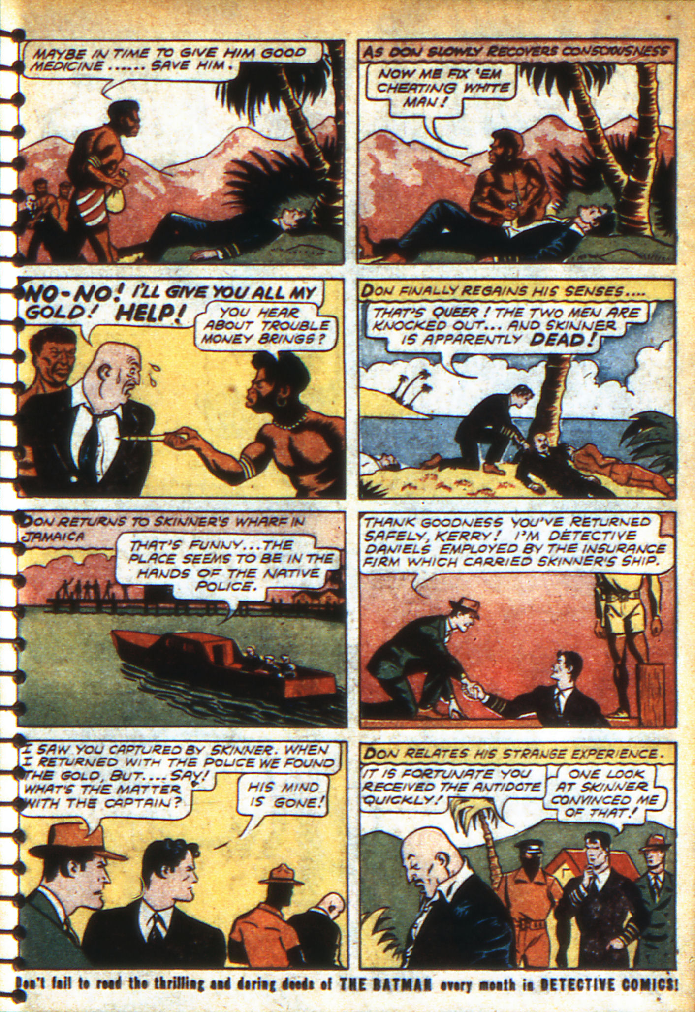Read online Adventure Comics (1938) comic -  Issue #47 - 60
