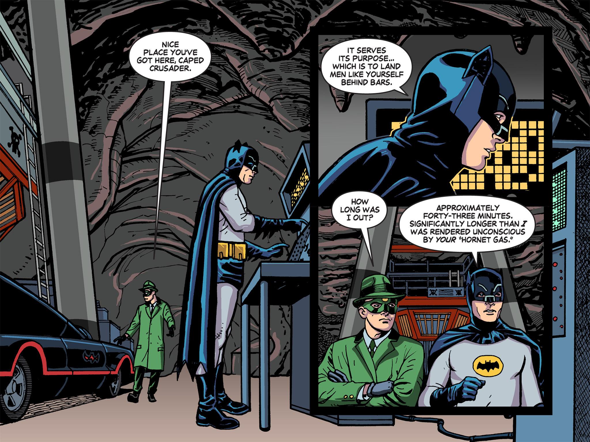 Read online Batman '66 Meets the Green Hornet [II] comic -  Issue #5 - 52
