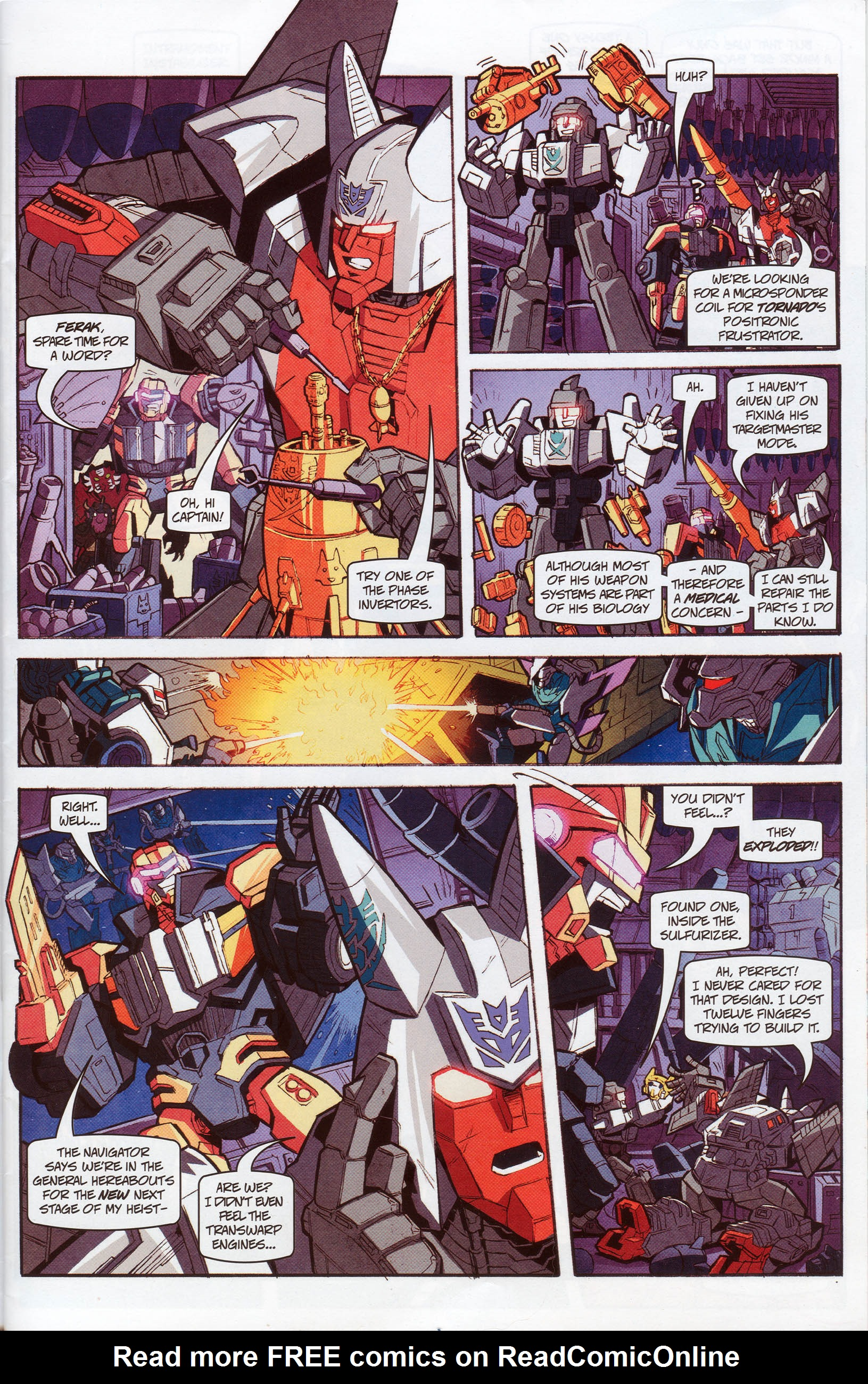 Read online Transformers: Timelines comic -  Issue #10 - 4