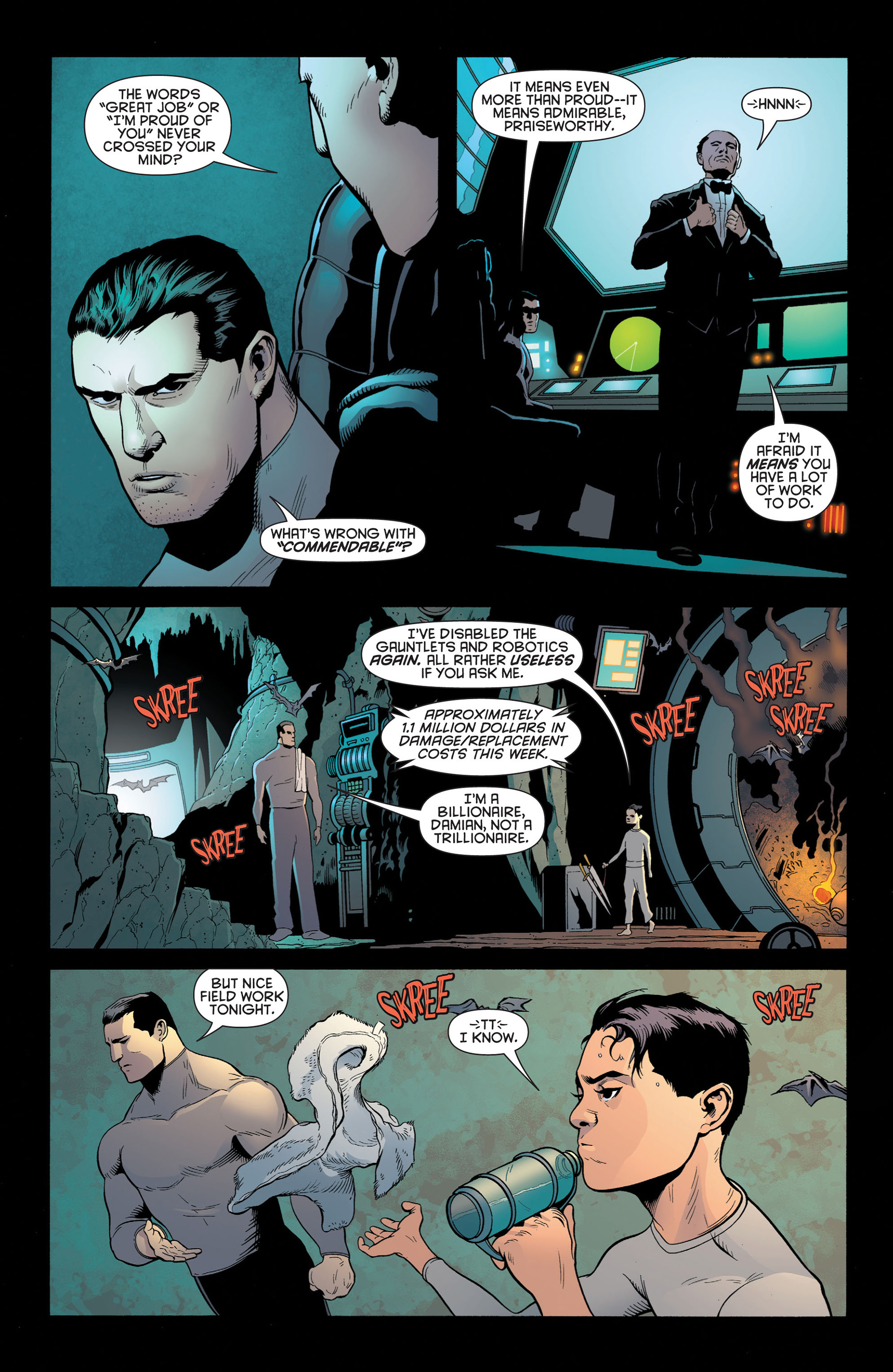 Read online Batman and Robin (2011) comic -  Issue #2 - 13