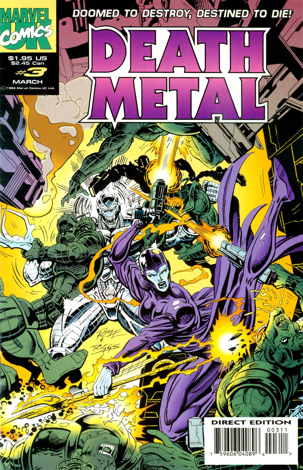 Death Metal 3 Page 1