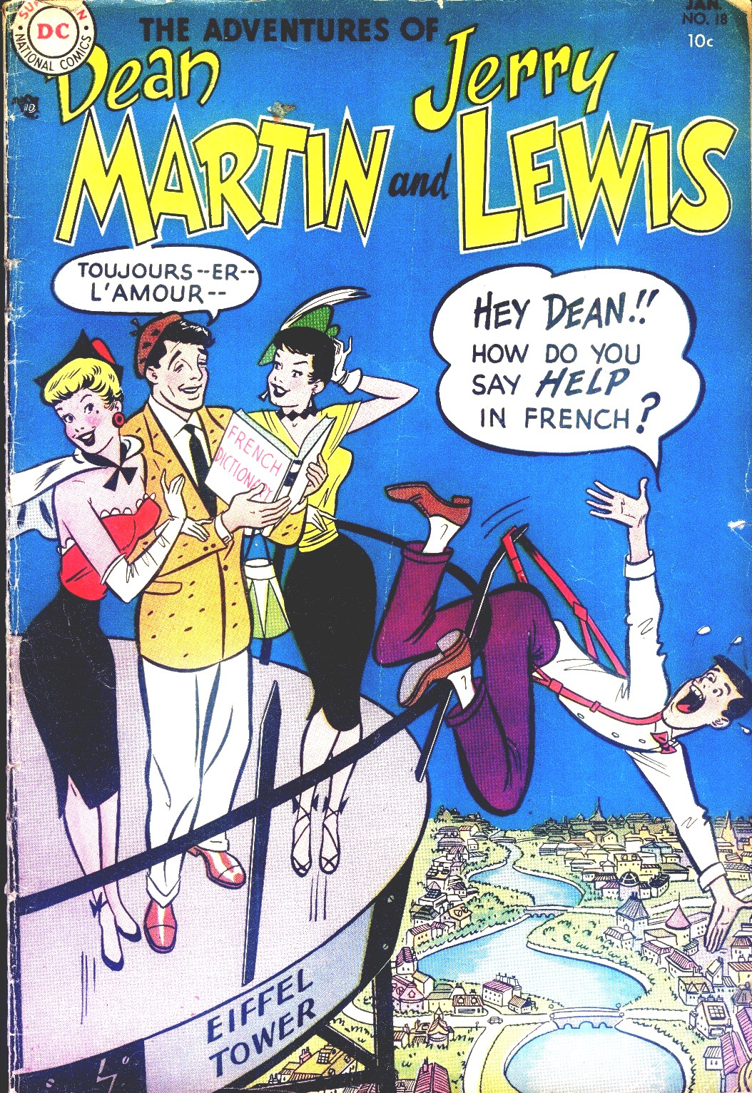 The Adventures of Dean Martin and Jerry Lewis 18 Page 1