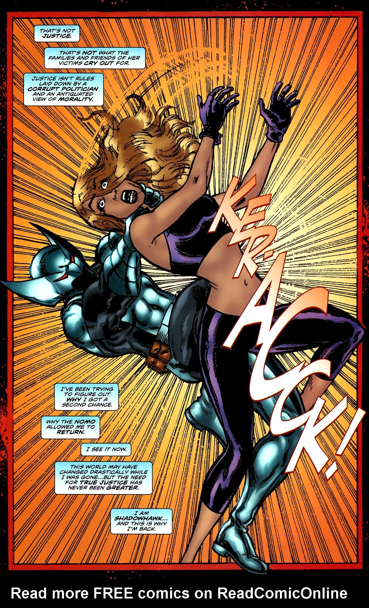 Read online ShadowHawk (2010) comic -  Issue #4 - 24