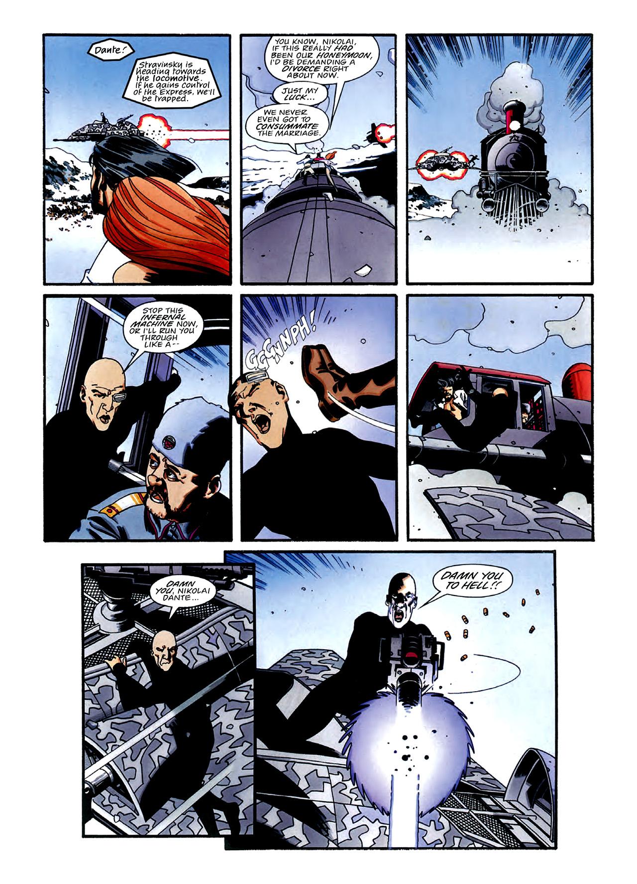 Read online Nikolai Dante comic -  Issue # TPB 3 - 33