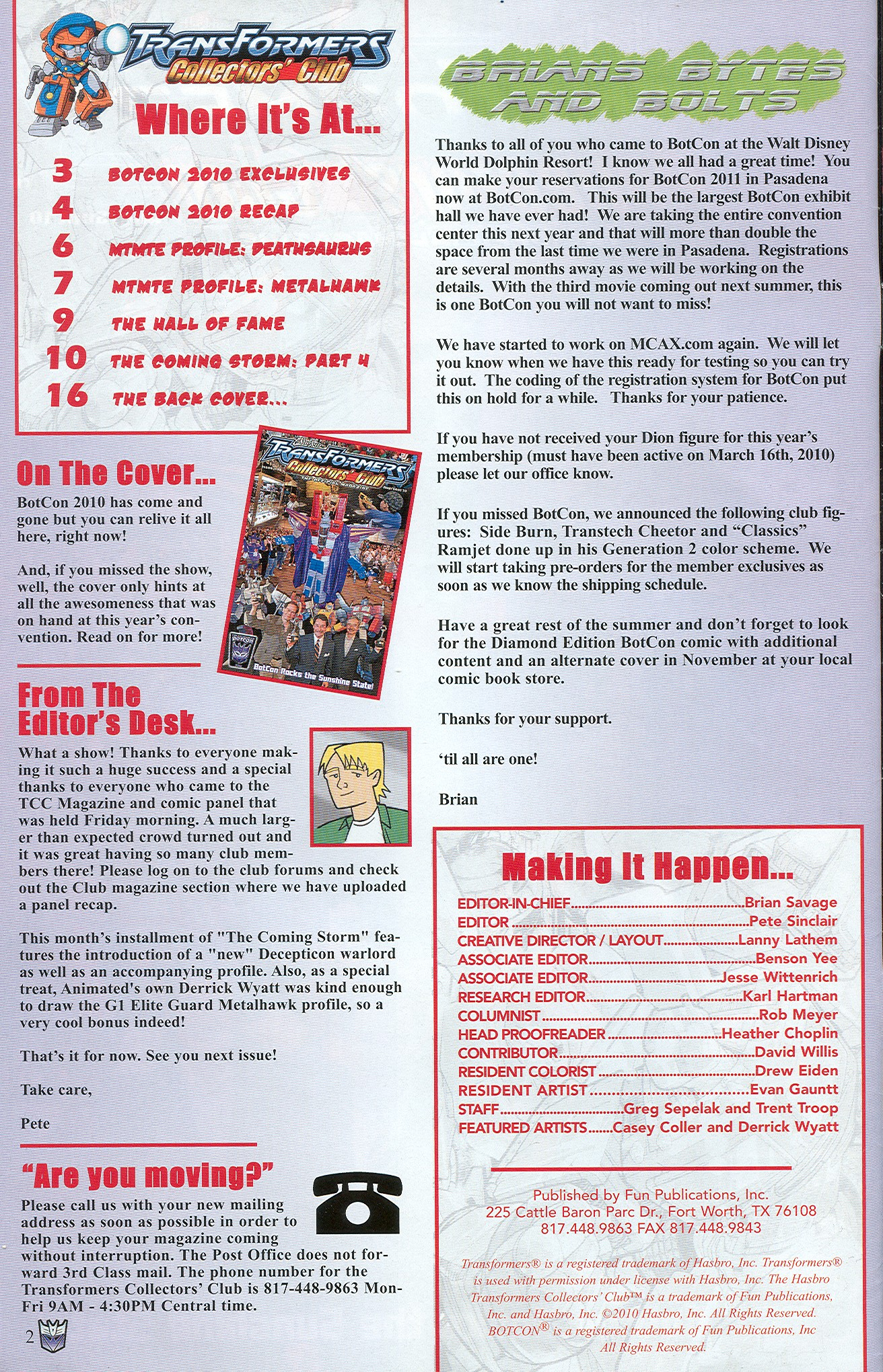 Read online Transformers: Collectors' Club comic -  Issue #34 - 2