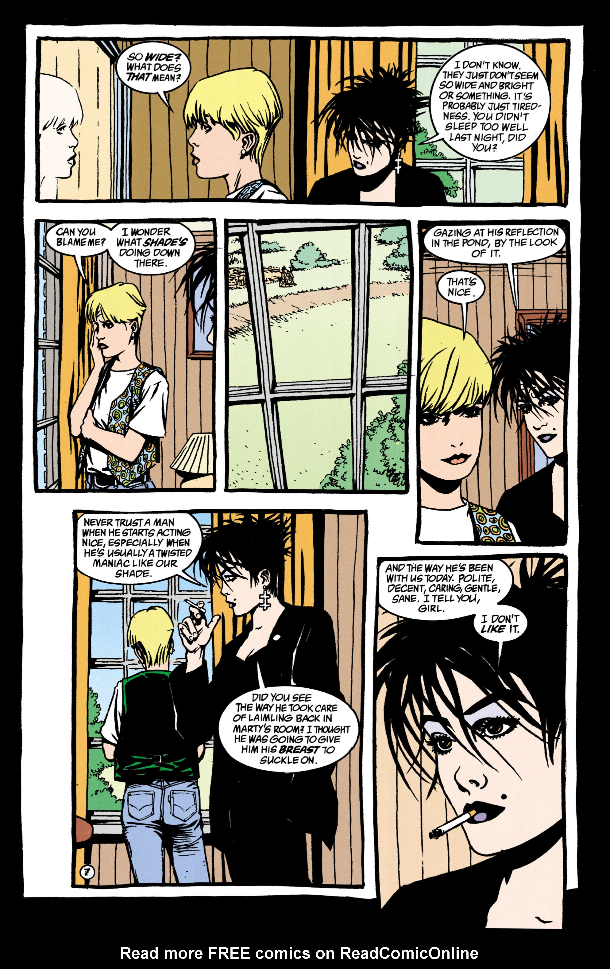 Read online Shade, the Changing Man comic -  Issue #38 - 8