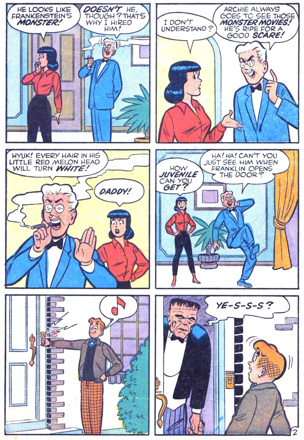 Read online Archie (1960) comic -  Issue #125 - 4