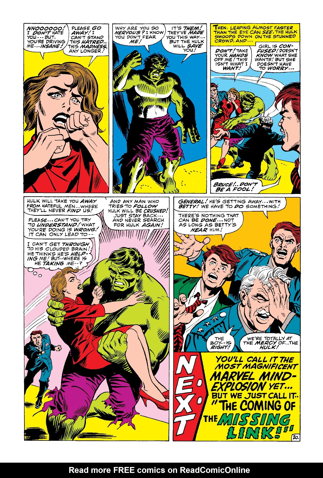 Read online Marvel Masterworks: The Incredible Hulk comic -  Issue # TPB 4 (Part 1) - 48