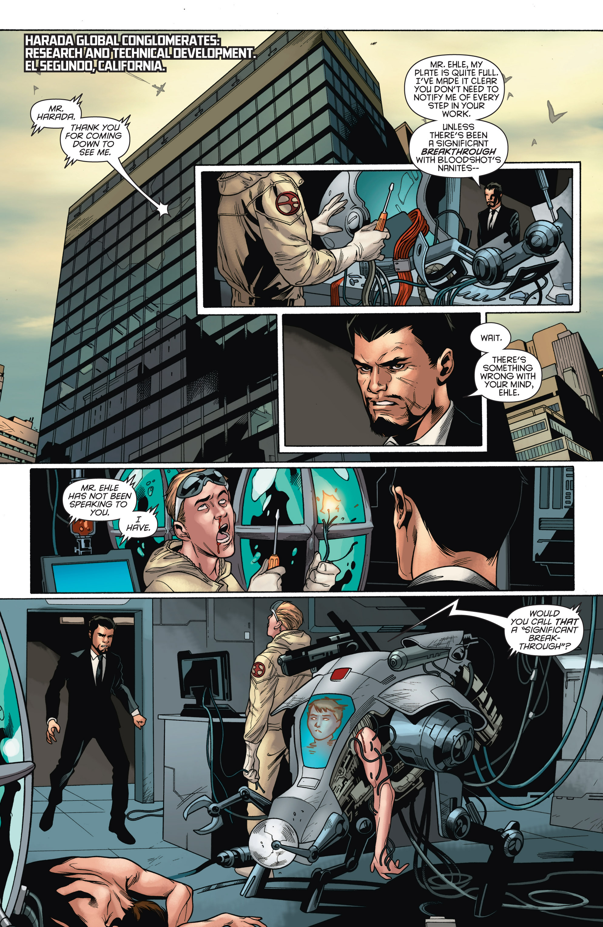 Read online Bloodshot and H.A.R.D.Corps comic -  Issue # TPB 4 - 58