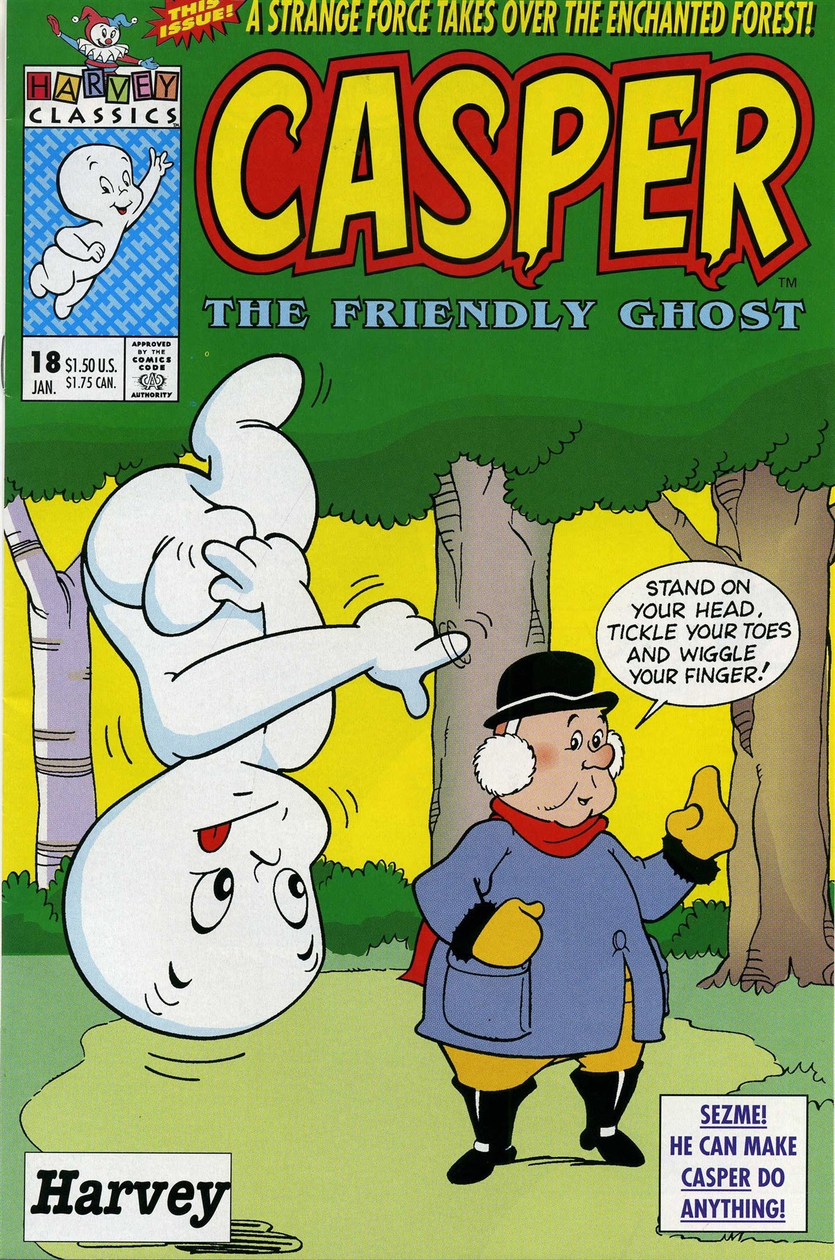 Casper the Friendly Ghost (1991) 18 Page 1