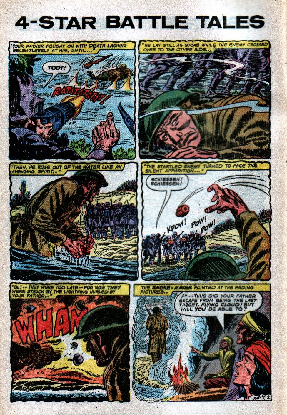 Four Star Battle Tales issue 2 - Page 4