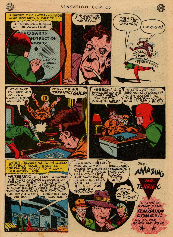 Read online Sensation (Mystery) Comics comic -  Issue #36 - 39