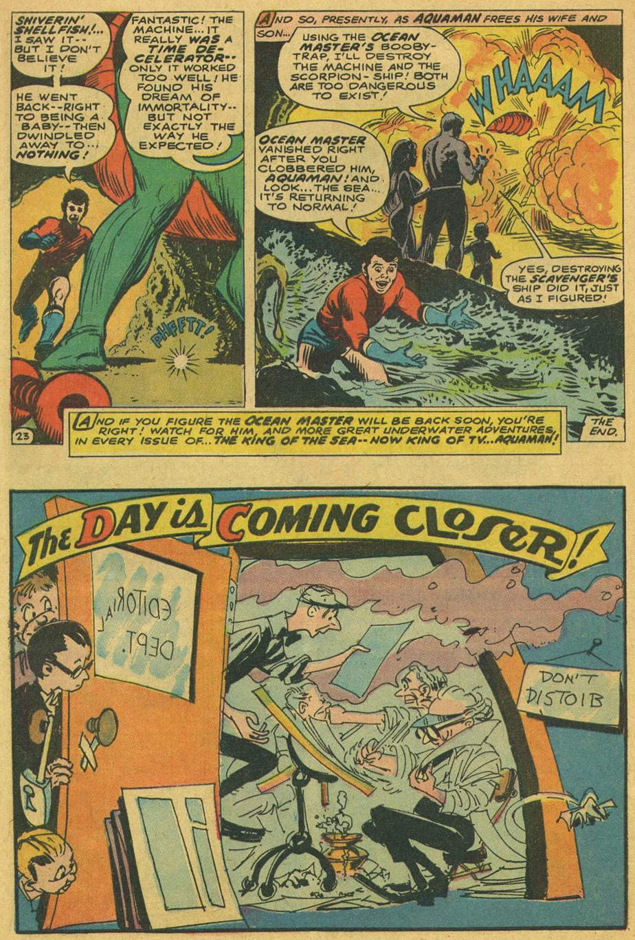 Read online Aquaman (1962) comic -  Issue #37 - 32