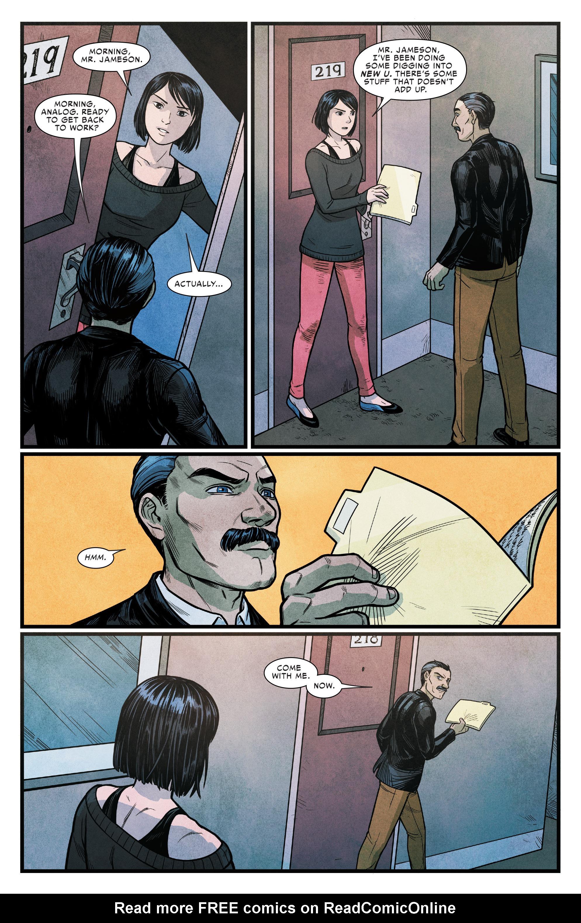 Read online Silk (2016) comic -  Issue #15 - 18