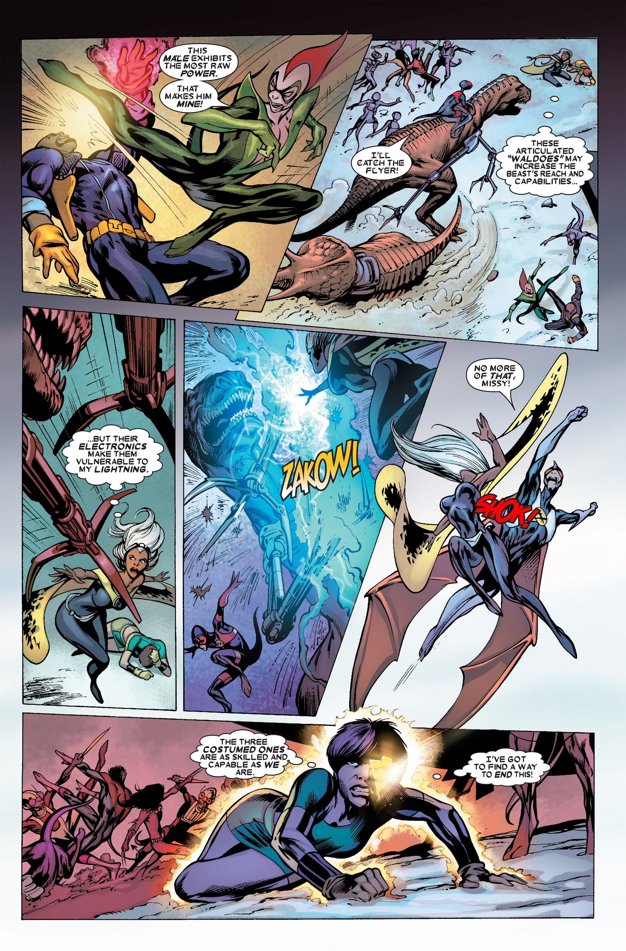 Read online Uncanny X-Men (1963) comic -  Issue #456 - 13