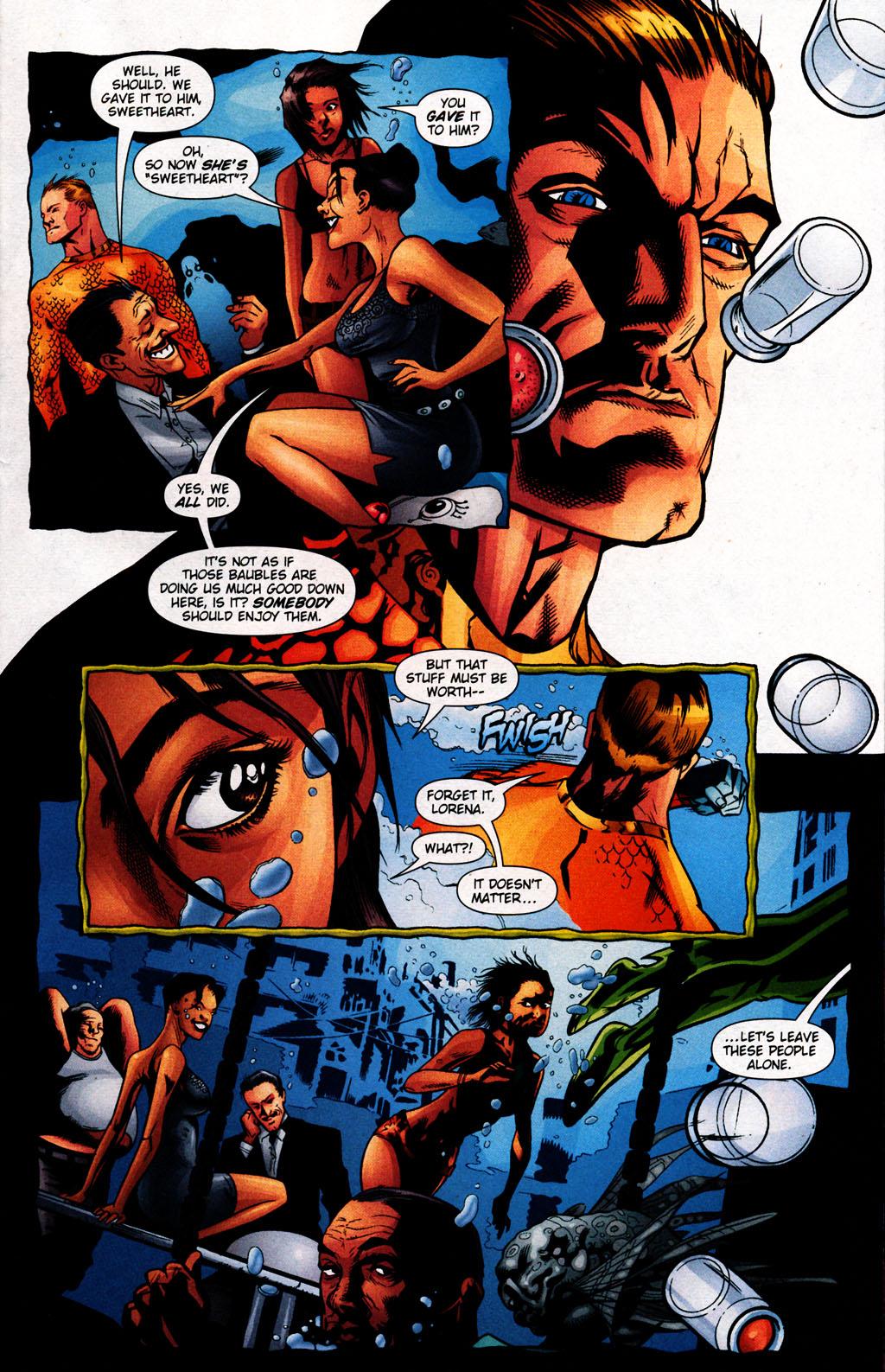 Read online Aquaman (2003) comic -  Issue #25 - 9