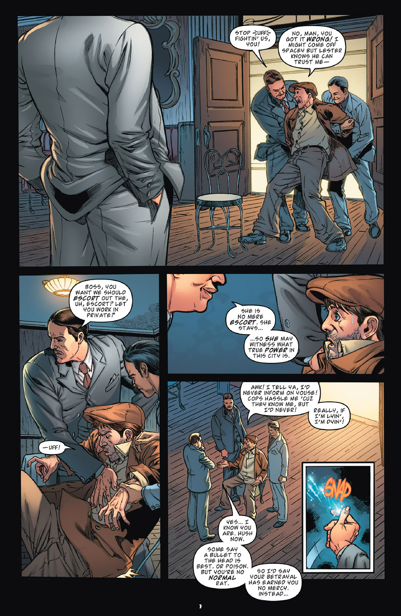 Read online KISS (2012) comic -  Issue #1 - 6