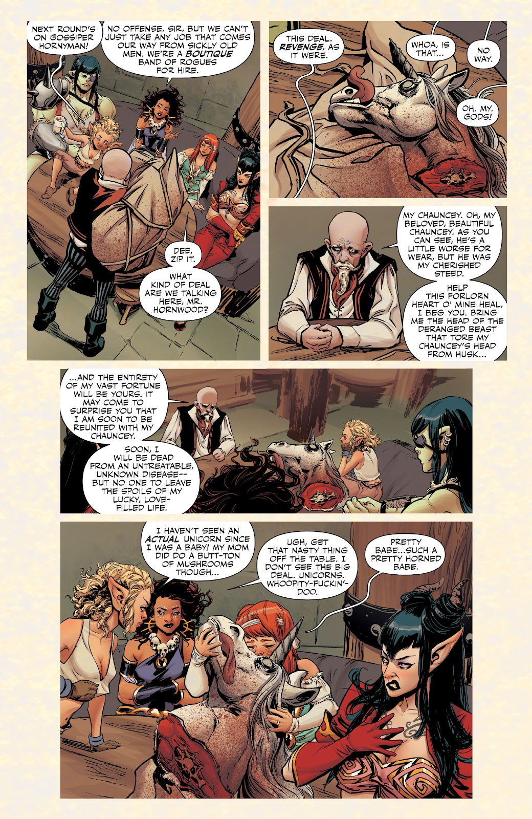 Read online Rat Queens Special: Swamp Romp comic -  Issue # Full - 4