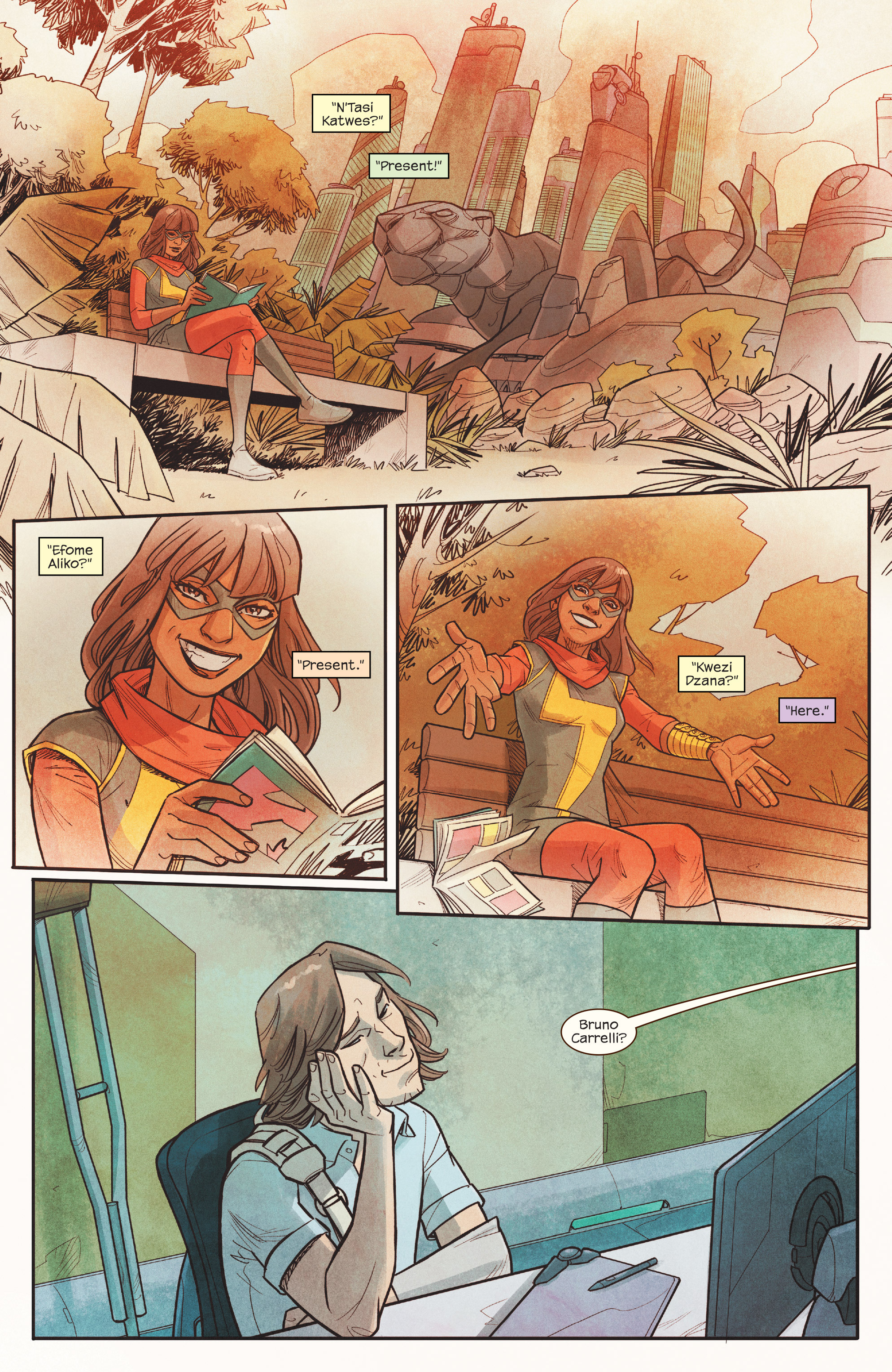 Read online Ms. Marvel (2016) comic -  Issue #18 - 3