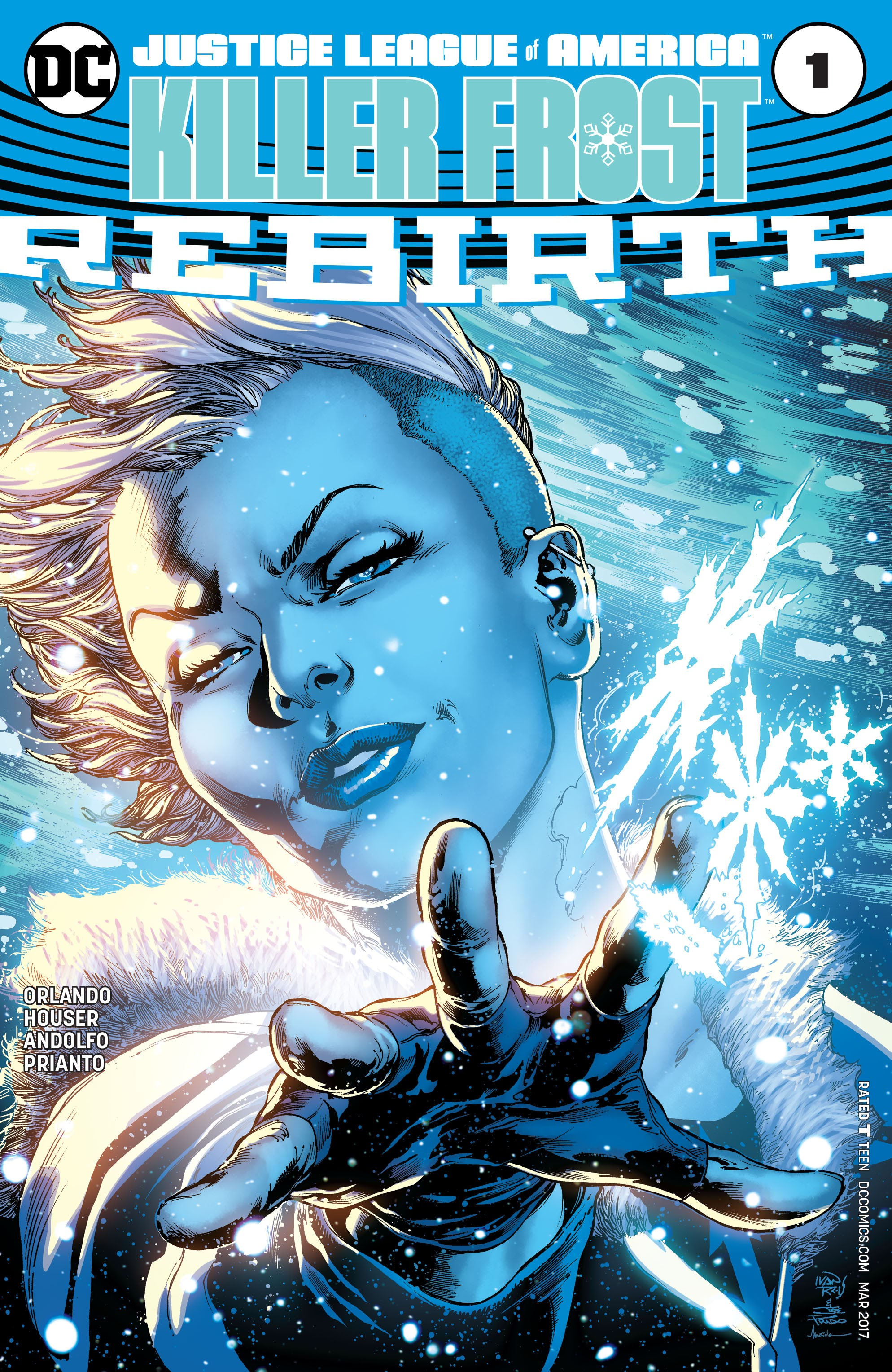 Read online Justice League of America: Killer Frost - Rebirth comic -  Issue # Full - 1