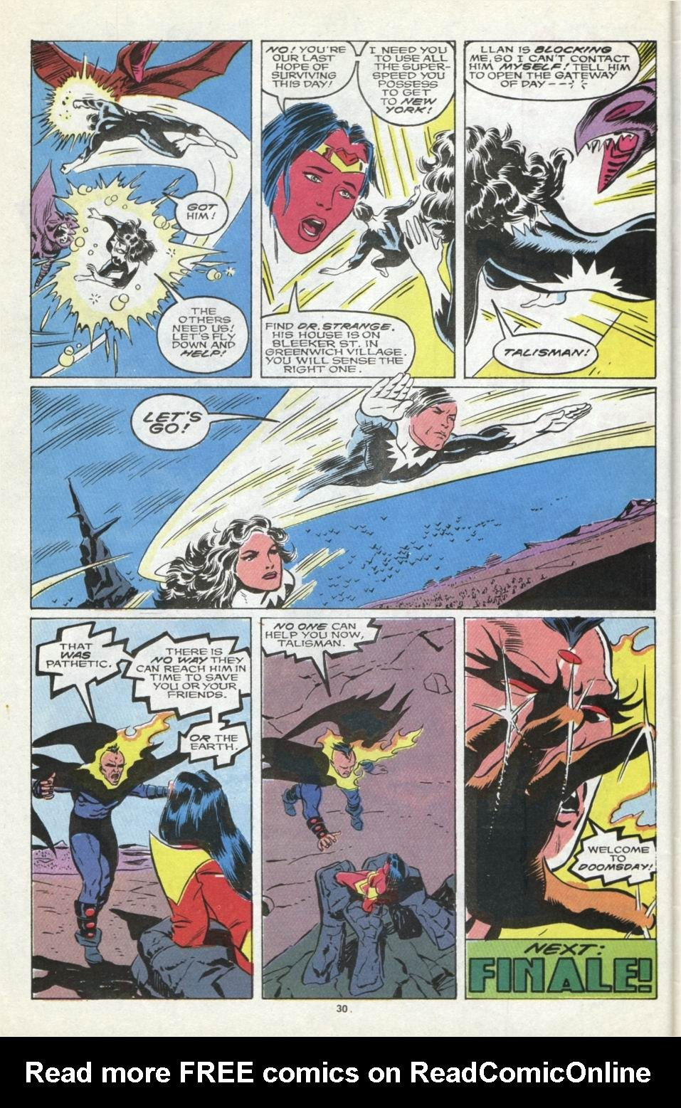 Read online Alpha Flight (1983) comic -  Issue #85 - 24